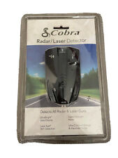 New & Sealed Cobra 9 Band Performance Radar Laser Detector 360 Degree Esd 7570