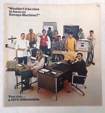 FOLLETO de ventas de Oldsmobile 1970 Classic American Vintage Publicidad
