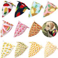 Cute Summer Pet Dog Cat Bandanas Scarf Neckerchief Dog Accessories Pet Supplies