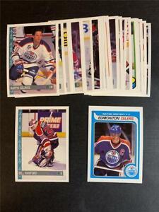 1992/93 OPC O-Pee-Chee Edmonton Oilers Team Set 22 Cards
