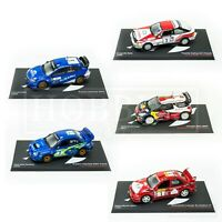Rally Car 1/43 Diecast Scale Models Subaru Mitsubishi Toyota Citroen WRC