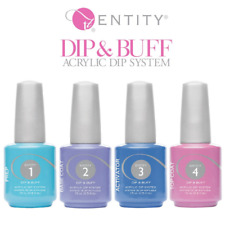 Entity DIp & Buff Acrylic Dipping Powder - 4 pc PREP, TOP , BASE , ACTIVATOR