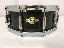 "Pearl Masters MCX 14"" Diameter  X 5.5"" Deep Snare Drum/Maple/Black Silk/#258/NEW"