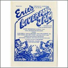 Eric's Club 1970s Liverpool Jam Promotional Handbill (UK)