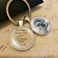 Personalised Photo Keyring Lost Pet Dog Cat Memory Forver in my Heart Present