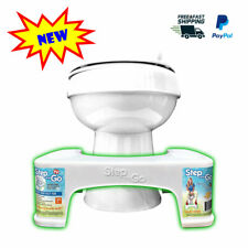 "7"" Step and Go Toilet Stool New - Proper Toilet Posture for Better and Healthier"