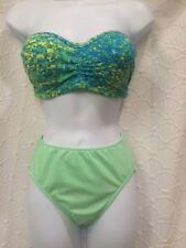 Venus 2 pc bikini NWT size 2 high waist full cut bottom  & B cup strap removes