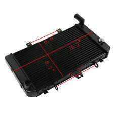 Black Radiator Cooling For Kawasaki ZRX1100 96-2000 97 98 ZRX1200 2001-2007 06