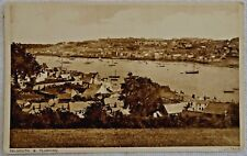 Falmouth & Flushing Harbor-Valentine's Photogravure Series-Post World War One