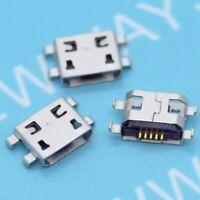 50x Micro USB Type B Female 5 Pin Jack Port Socket Connector Solder SMD SMT PCB
