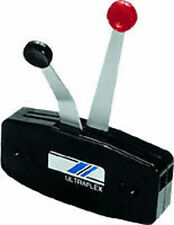 Uflex Two-Lever Side Mount Control B49 Black Finish Left/right installation MD