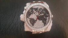 Jacob & Co 47mm Big Face World is Yours 15ct Diamond Watch with bonus Bracelet