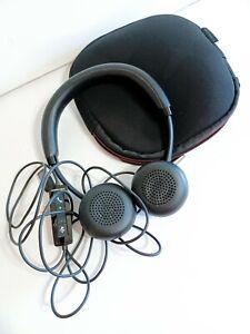 Plantronics C520-M Blackwire 500 Series Binaural Headset Headphones & Case