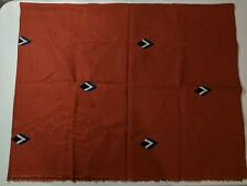 "Flax + Symbol Throw Terracotta 100% linen 53""w x 74""l New without tags Open Box"