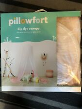 Pillowfort Dip Dye Pink & White Canopy ~MSRP $44.99 @Target ~Twin Bed/Play Area