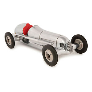 """Indianapolis Spindizzy Red Seat Aluminum Model Tether Car Replica 12"""" New"""