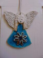 ANGELO in ceramica da appendere ARTE fatto a mano realizzato a mano BELLISSIMI COLORI Fattoria shop 05-03 S