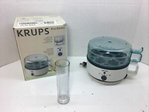 Krups Type F230 Egg Express Cooker 7 Eggs Capacity NO CUPS Tested Working
