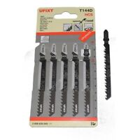 Jigsaw Blades T144D For High Speed Wood Cutting HCS 5 Pack Fits Hitachi