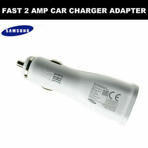 100% GENUINE FAST CAR CHARGER & MICRO USB CABLE FOR SAMSUNG S6 S7 NOTE 4 5 ETC