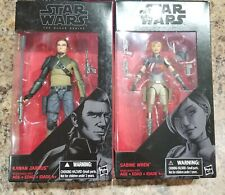 Star Wars Black Series Sabine Wren and Kanan Jarrus