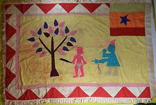 AFRICAN TRIBAL ART GOOD OLD FANTE ASAFO FLAG