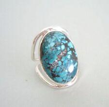 Ring mit Türkis, 925er Silber, Gr.19,1 - echt -