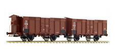 ACME 45103 Set 2 carri F pareti doghe legno orizzontali passo corto,1 GARITTA FS
