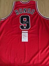 RAJON RONDO - Bulls SIGNED JERSEY with COA