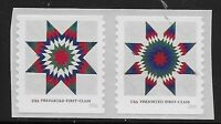 US Scott #5098-99, PAIR 2016 Star Quilts VF MNH