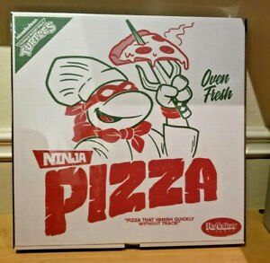 2019 SDCC EXCLUSIVE Super7 TEENAGE MUTANT NINJA TURTLES ReAction Pizza TMNT