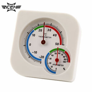WS-A7 Multifunction Thermometer Meter Temperature White Humidity Hygrometer
