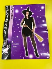 Halloween Sexy Witch Fancy Dress - Ladies One Size Fantastic Fancy Dress Costume