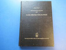 DDR Fachbuch Theoretische Grundlagen der Gaschromatographie guter Zustand 1960