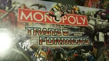 Monopoly Transformers Collectors Edition 2007 Factory Sealed RARE