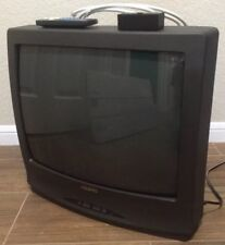 """Sanyo DS19390 19"""" Inch CRT Tube TV Television 2001 RF Coaxial ONLY with Remote"""