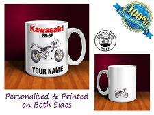Kawasaki ER-6F Motorbike Personalised Ceramic Mug Gift (MB082)