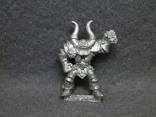 Blood Bowl Chaos Warrior 1 metal miniature 3rd ed 1994 OOP