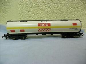 100t Bogie Tanker Liquid Oxygen 'BOC' Hornby No R.667 '00' Looks Lightly Used