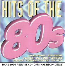 Best Greatest 80's Hits CD Eurythmics Rick Astley Haircut 100 Pointer Sisters
