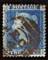 CatalinaStamps: Great Britain Stamp #29 Used Plate 9, SCV=$12.50, #A-2