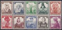 1935 Nazi 3rd Reich Volkstrachten/Costumes Set Mint!