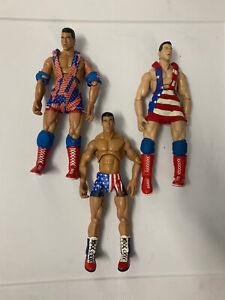 WWF WWE Finishing Moves Kurt Angle figure lot