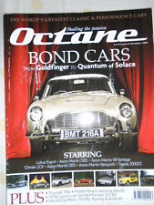 Octane No 65 Nov 2008 James Bond Cars, Ferrari 312 B2, Alfa Romeo 8C 2900B