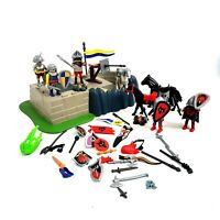 Playmobile Bundle Parts from 4160 5864 & 4217 Knights Horses Armour