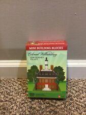 Mini Building Blocks. Colonial Williamsburg (Governor's Palace)