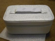 "Bare Escentuals Bareminerals Deluxe Train Case (4"" H x 8"" L x 5"" W) New"