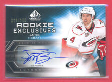 Jamie McBain 2010-11 SP Game Used Rookie Exclusives AUTOGRAPH (only 100 made)
