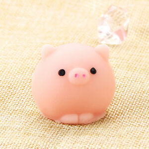 Soft Mochi Cute Pig Ball Squishy Squeeze Healing Stress Reliever Toy Gift Decor