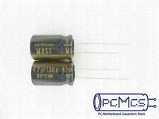 Nichicon Muse FG Fine Gold  UFG2A470MPM 47uF 100V 85°C 10x20mm RM5  #BP 4 pcs